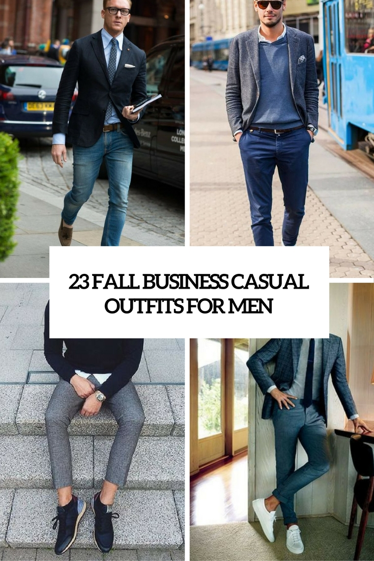 fall business casual outfits for men cover