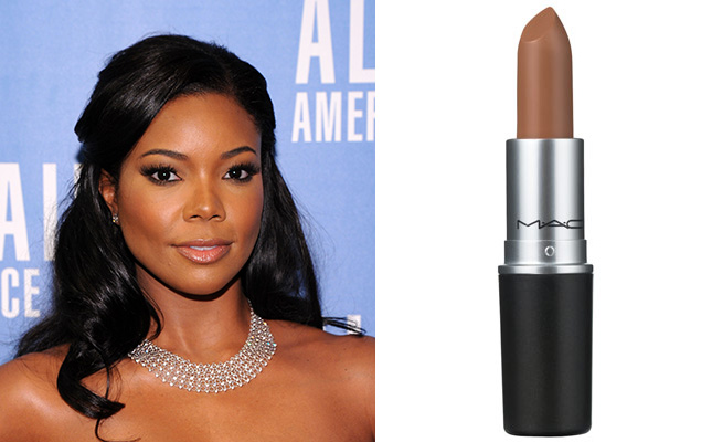 #6 - Mac Light Nude Lip Color for Darker Skin Tones