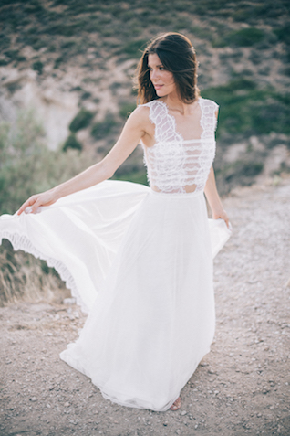Destination wedding dress | Paulina Weddings Photography