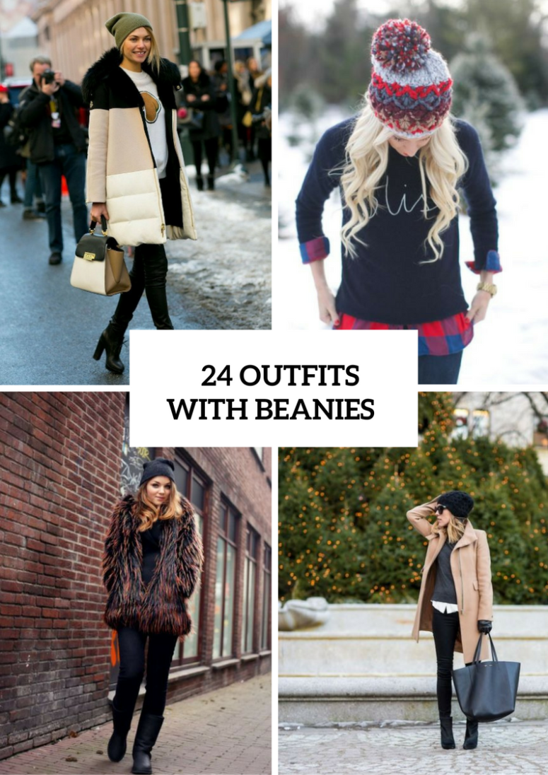Fall And Winter Outfit Ideas With Beanies