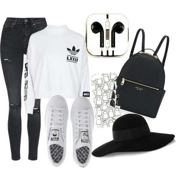 cool ways to wear outfits with adidas shoes (19)