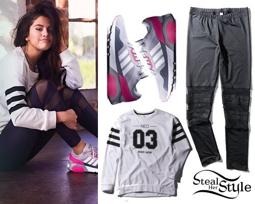 cool ways to wear outfits with adidas shoes (27)