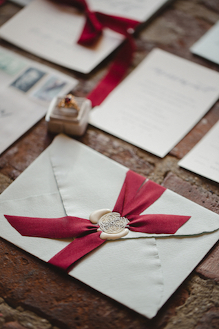 Wax seals and ribbons | Amy Donohue Photography