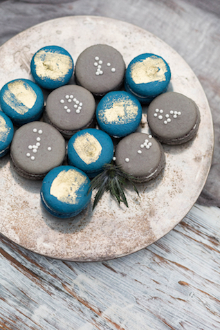 Painted macarons | KAngell Photography