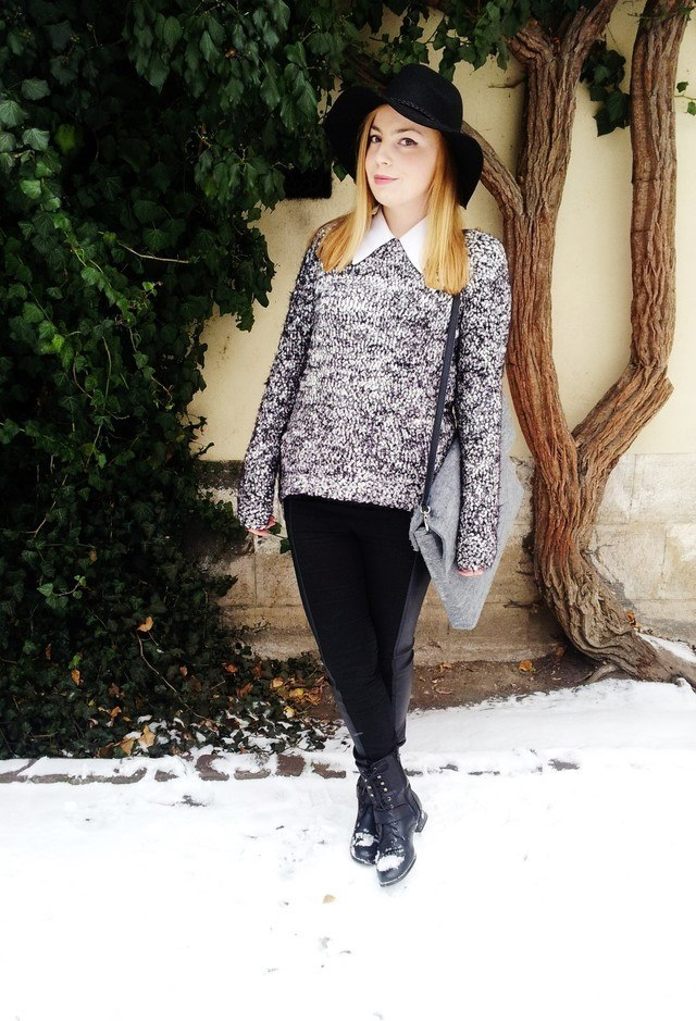 winter outfits to wear with combat boots (10)