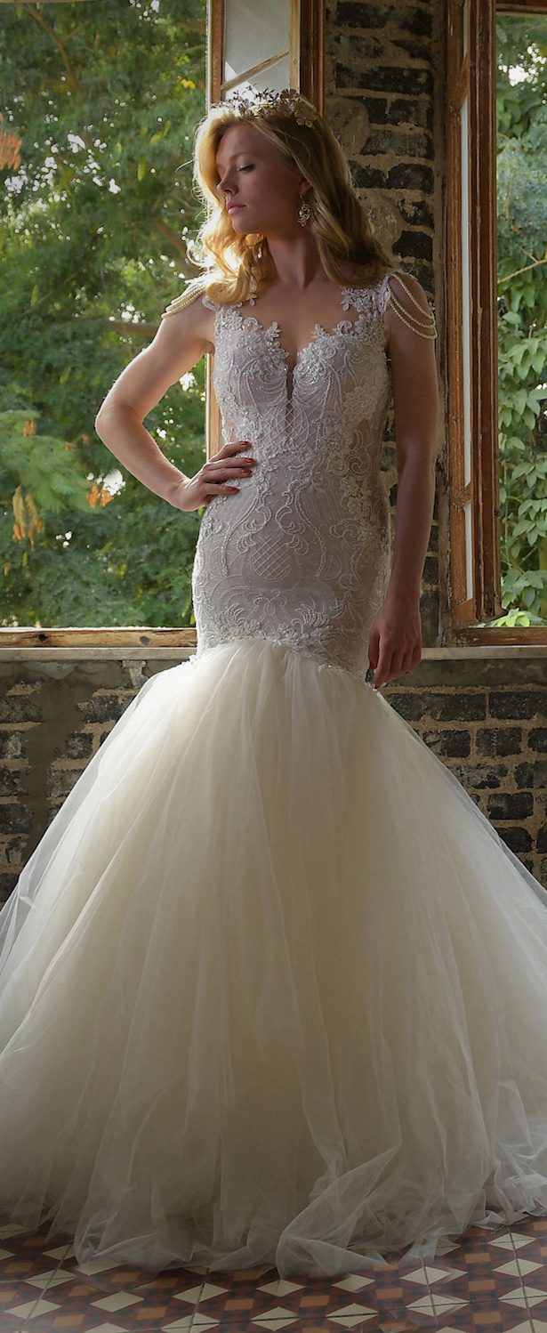 Wedding Dress by Naama and Anat 2017 Bridal Collection