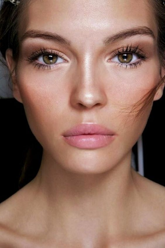 Apply blush to wake up your complexion and make your skin look glowing and not dull