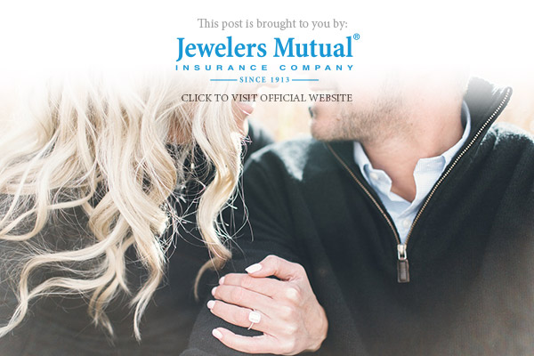 jewelers mutual jewelry insurance romantic proposal specialty engagement ring insurance coverage banner