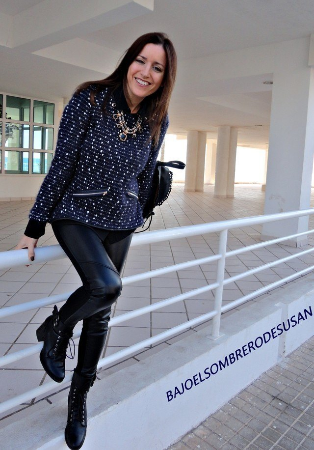 winter outfits to wear with combat boots (2)