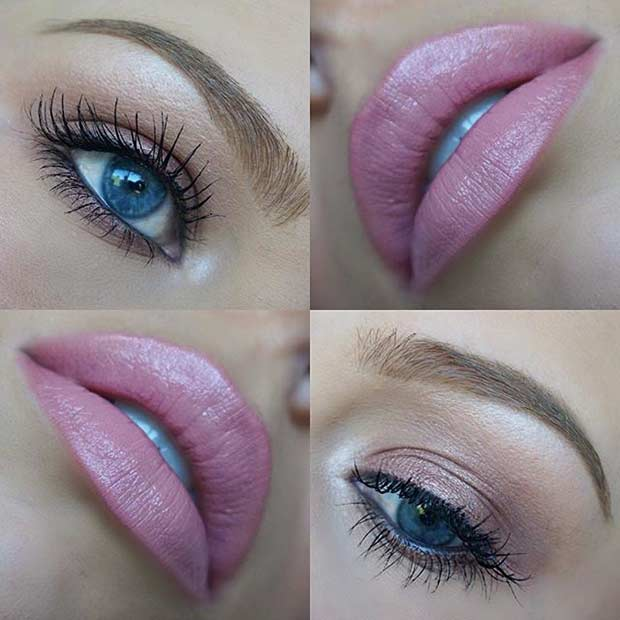 Easy Everyday Makeup for Blue Eyes