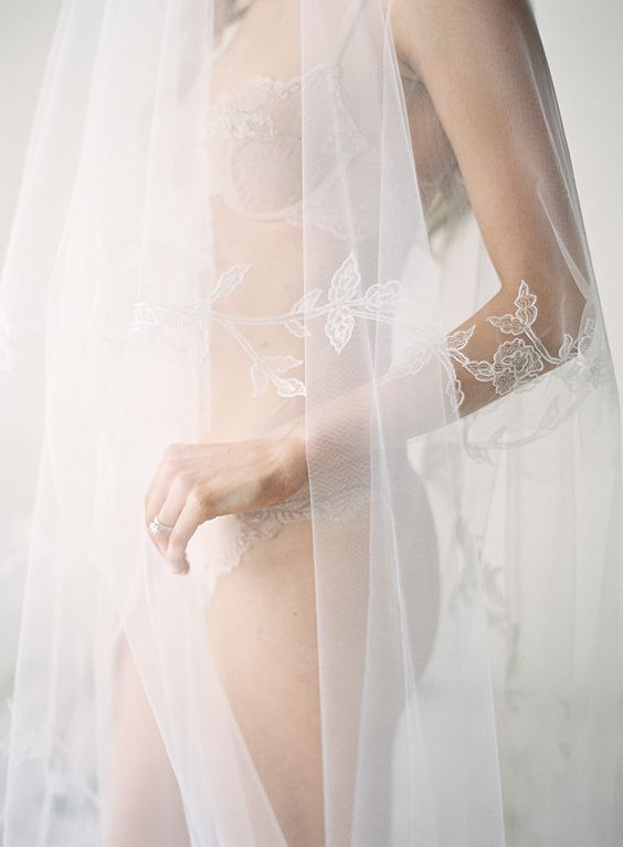 nude lingerie seems to be invisible