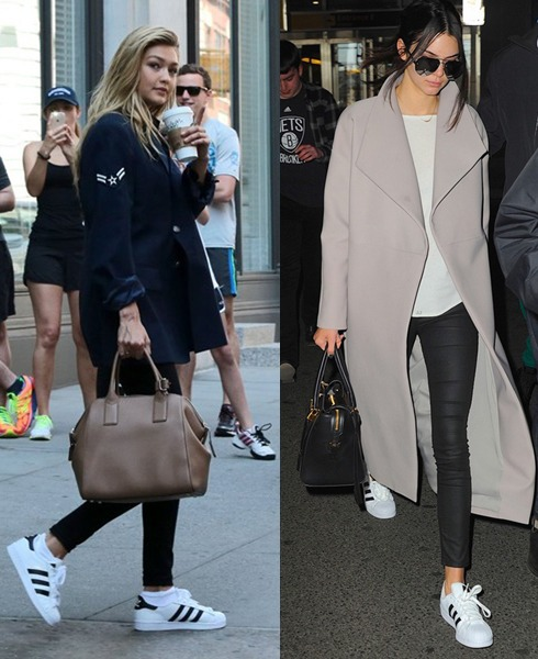 cool ways to wear outfits with adidas shoes (6)