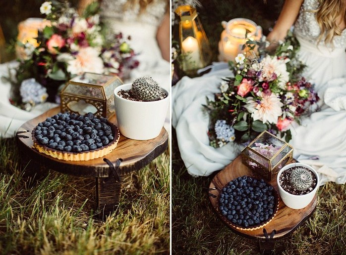 Every detail of this romantic shoot is gorgeous and very memorable