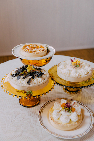 Wedding pies | GingerSnap Photography