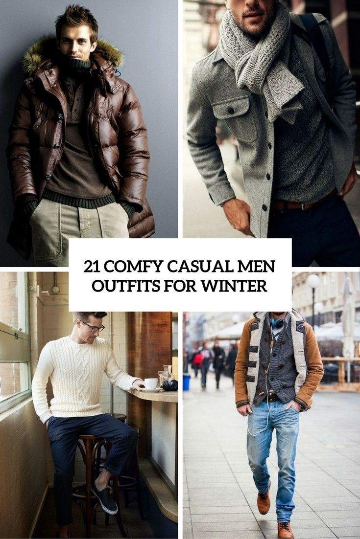 comfy casual men outfits for winter cover