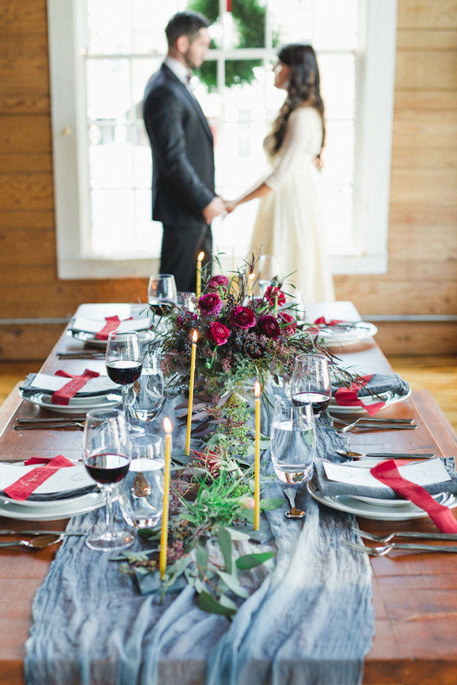 Holiday tablescape | Amy Donohue Photography