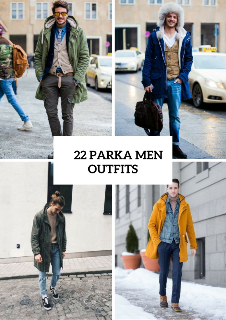 Cool Parka Outfits For Men