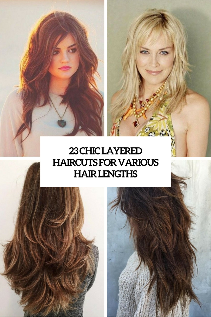 23 Chic Layered Haircuts For Various Hair Lengths | Beauty