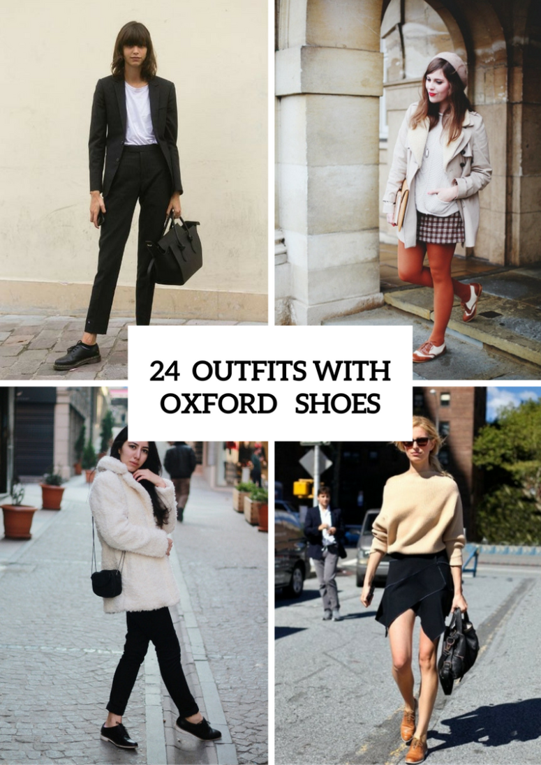 Excellent Outfits With Oxford Shoes