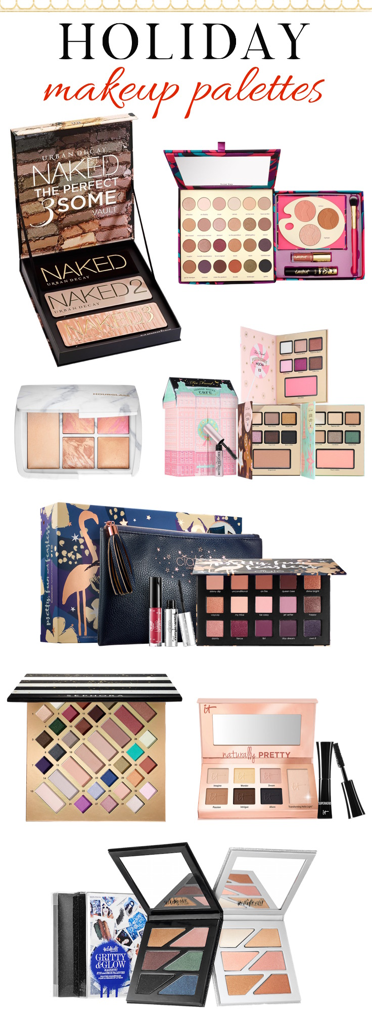 The prettiest palettes you need on your holiday wish list!