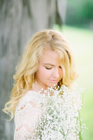 Bride to be portrait - Morgan Lindsay Photography