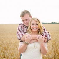 Engagement in Ohio - Morgan Lindsay Photography