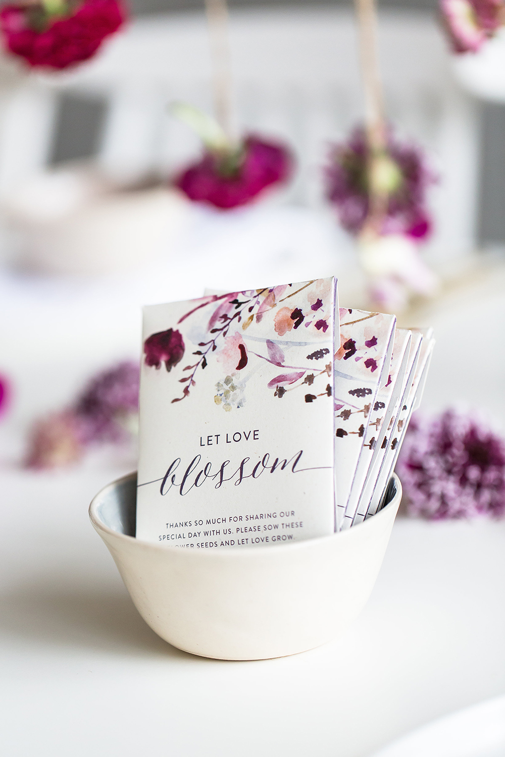 wedding favors - photo by Wesley Vorster http://ruffledblog.com/modern-chic-boho-fall-wedding-inspiration
