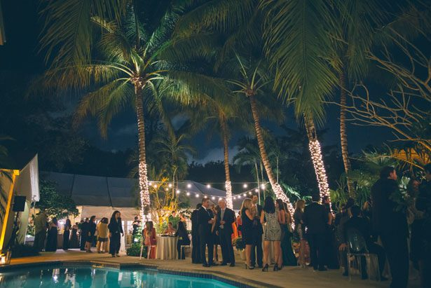 Poolside Wedding - Kane and Social