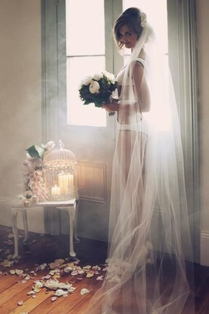 your wedding veil will be one of the best accessories for the pics