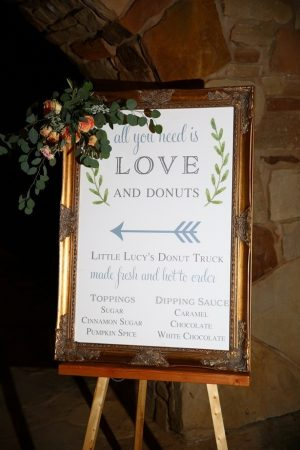 Wedding sign - Hyde Park Photo