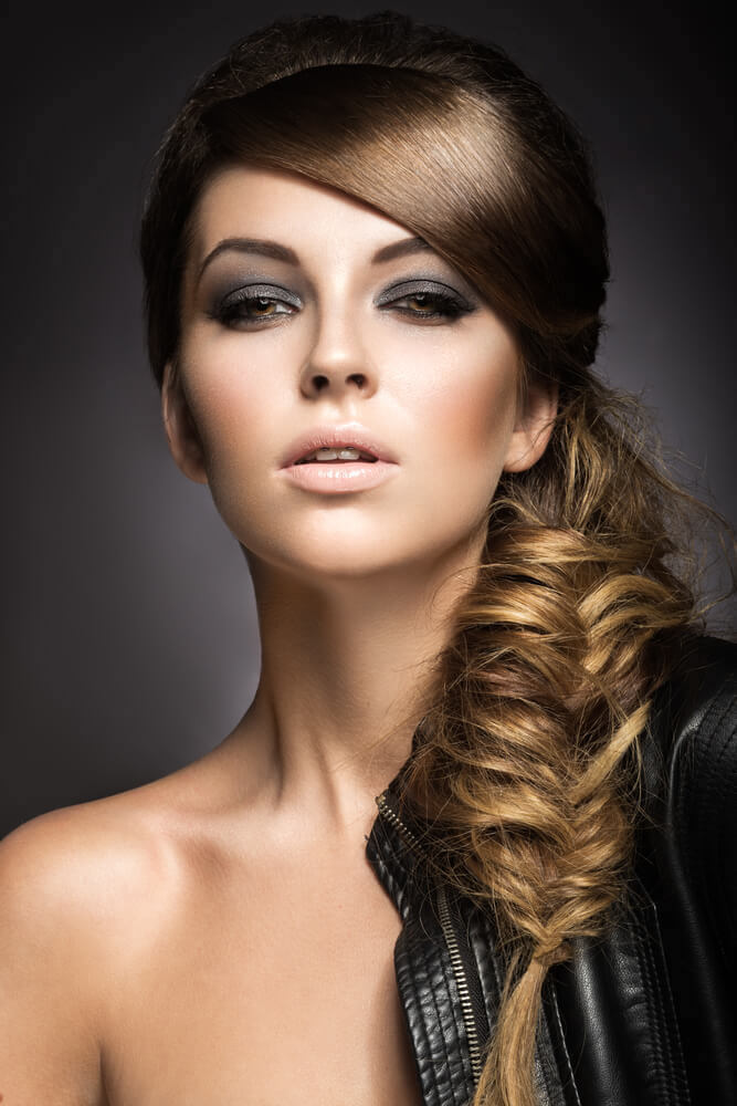 bohemian-fishtail-messy-braid