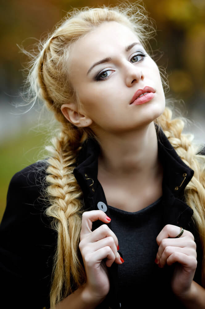 two-fishtail-braids