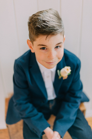 Ring bearer | GingerSnap Photography