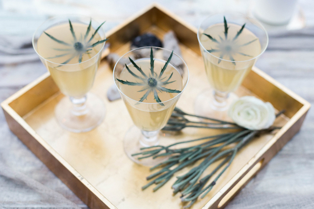 Thistle cocktail | KAngell Photography