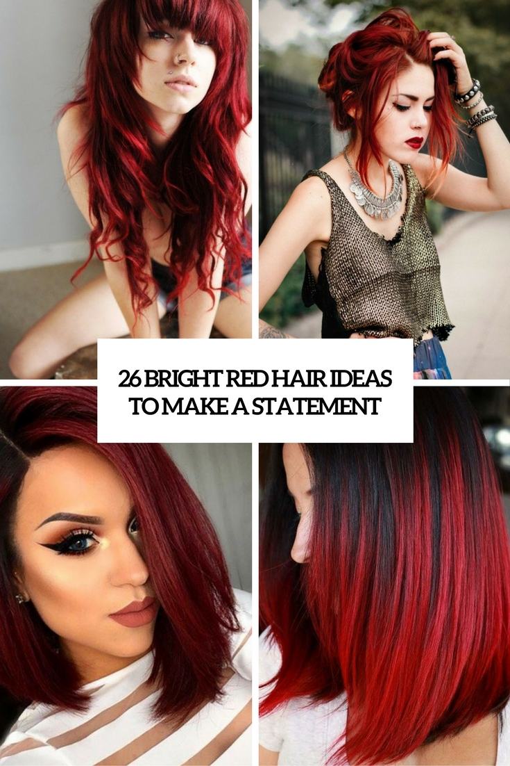 bright red hair ideas to make a statement cover