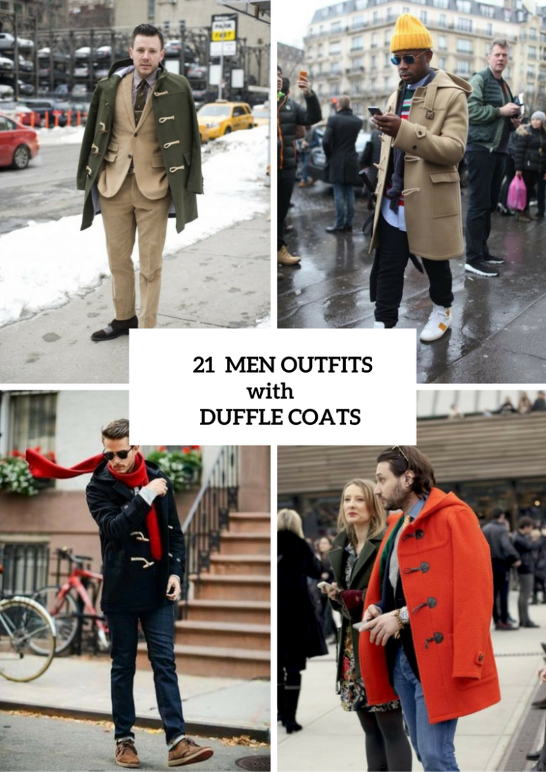 Excellent Duffle Coat Outfits For Men