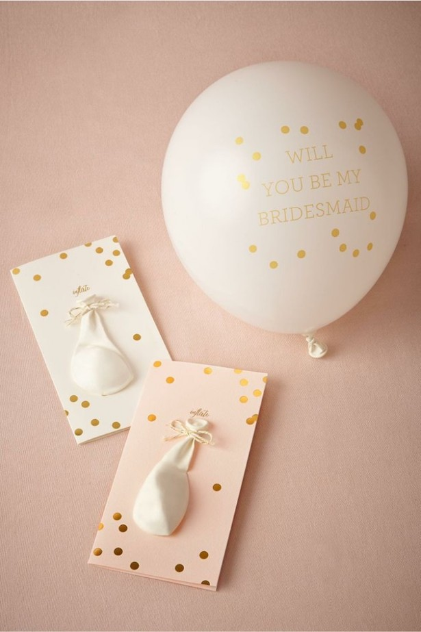 Bridesmaid Proposal Ideas : Pop-the-question maid cards by BHLDN
