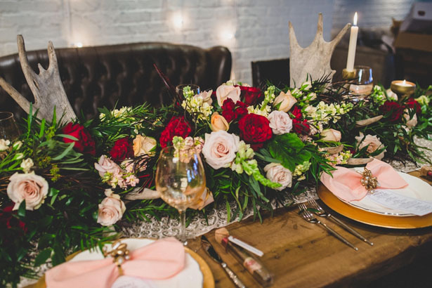 Beautiful wedding centerpiece - Edward Lai Photography