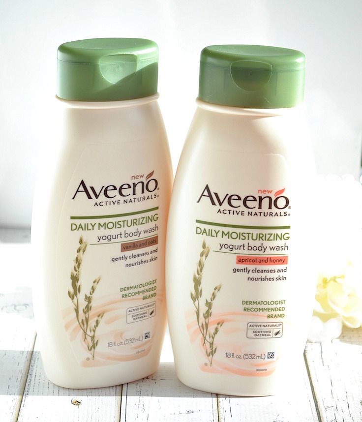 Aveeno daily moisturizing yoghurt body wash