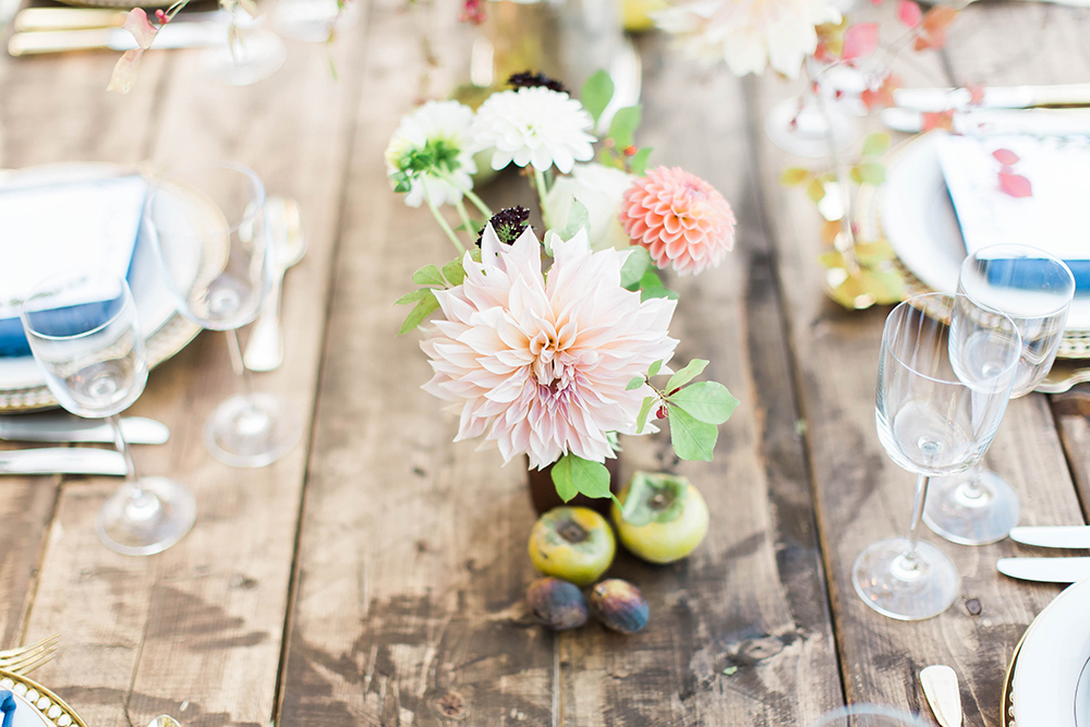 wedding flowers - photo by Candice Adelle Photography http://ruffledblog.com/historic-garden-wedding-inspiration