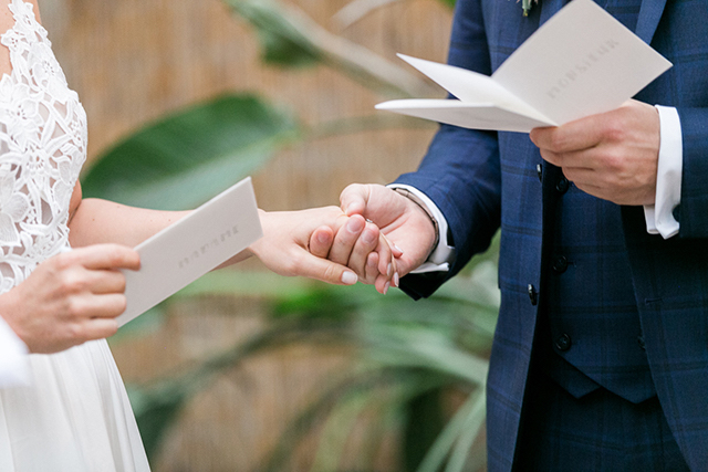 Own vows for wedding | Susanne Wysocki Photography