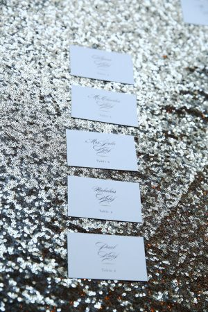 Wedding escort cards - HydeParkPhoto