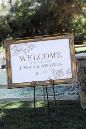 Wedding signs - William Innes Photography