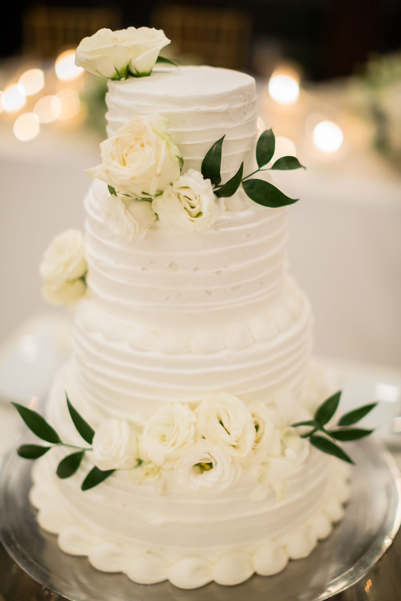 simple white wedding cakes - photo by DarinImages http://ruffledblog.com/this-bride-is-sharing-all-you-need-to-know-about-a-destination-wedding-in-thailand