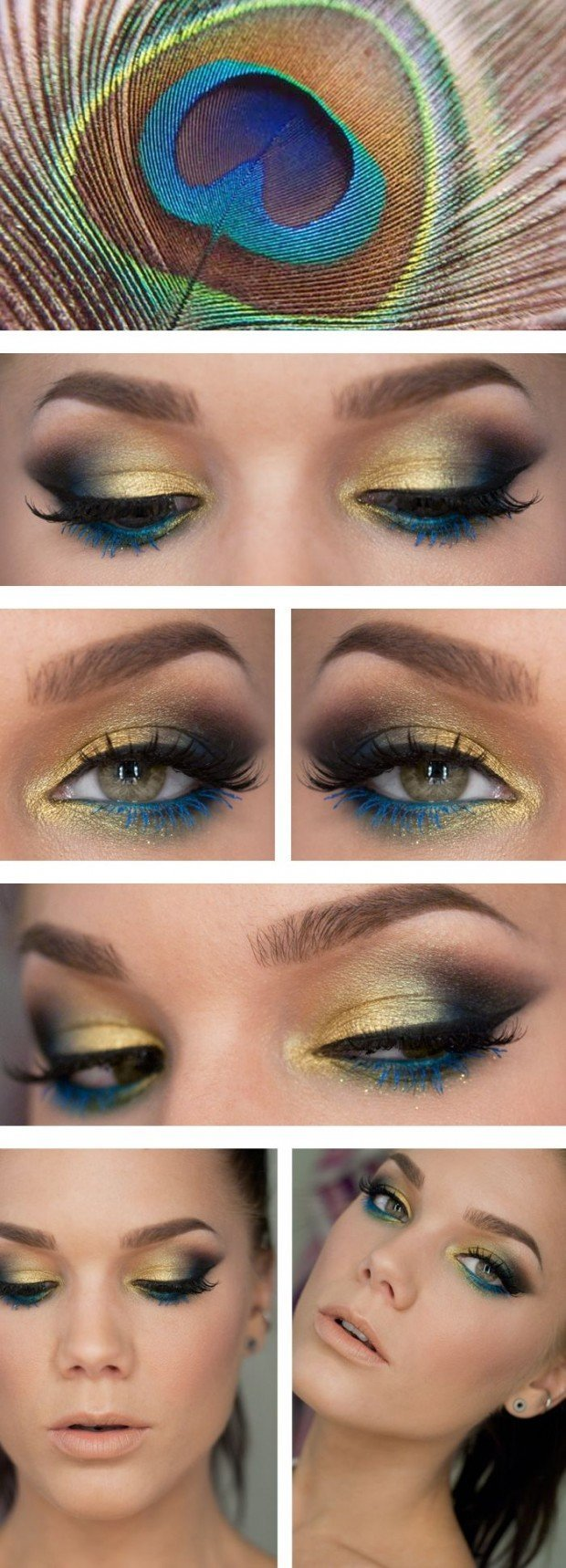 Colourfull Eye makeup Tutorials