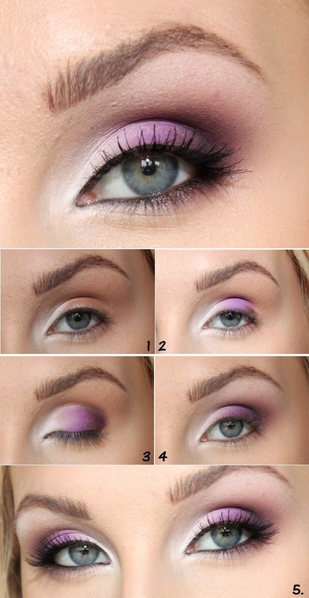 Eye makeup Tutorials for Green Eyes