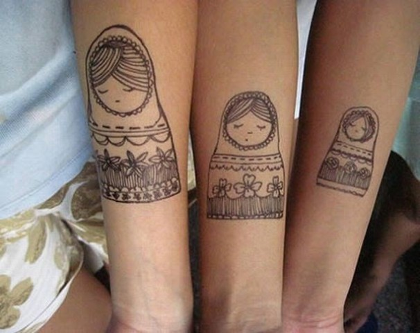Original family tattoos