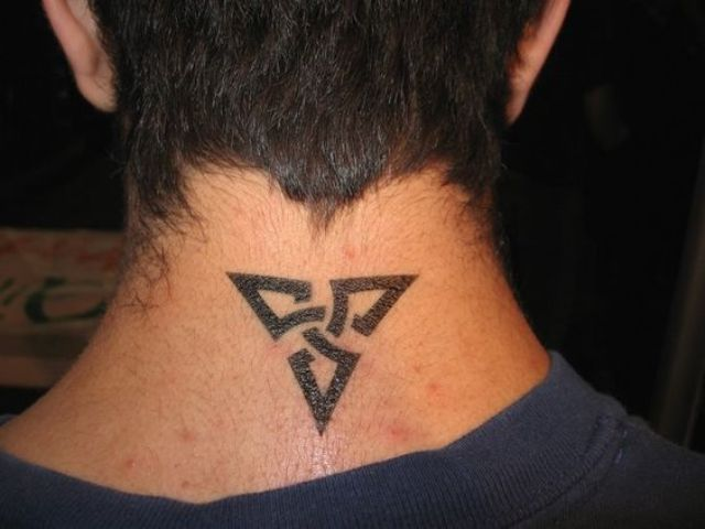 Cool tattoo idea for a neck