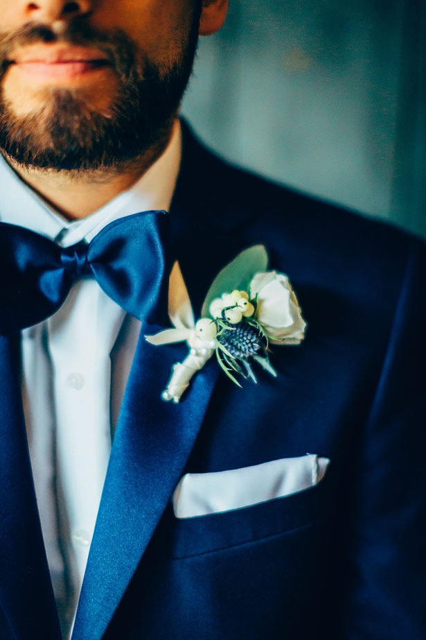 Groom boutonniere - Derek Halkett Photography