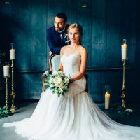 Rustic Glamour Wedding Inspiration - Derek Halkett Photography
